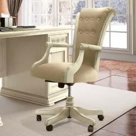 Кресло Torriani Avorio (высокое, экокожа Montreal)