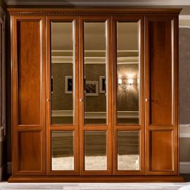 Шкаф Treviso Ciliegio 5дв. с 3 зеркалами