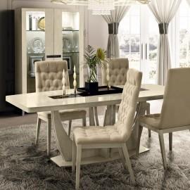 Стол обеденный Ambra (140+50 см)