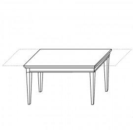 Стол прямоугольный Treviso Ciliegio (140+45+45 см)