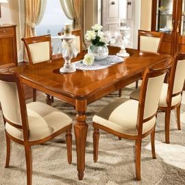 Стол обеденный Torriani прямоугольный (180+45+45 см)