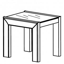 Столик Dama Bianco
