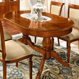 Стол обеденный Torriani овальный (160+38+38 см)