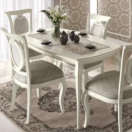 Стол обеденный Fantasia Bianco