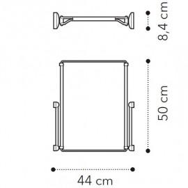 Телескопическая рама полного выдвижения д/1дв. модуля