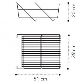 Подставка для обуви д/2дв. модуля