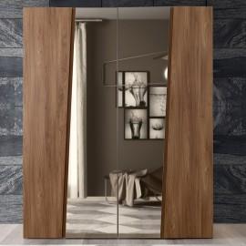 Шкаф 4-дверный с зеркалами Akademy
