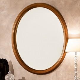 Зеркало Treviso Ciliegio овальное