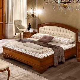Кровать Torriani Noce Giorgione Capitonne