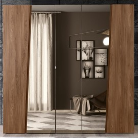 Шкаф 5-дверный с зеркалами Akademy