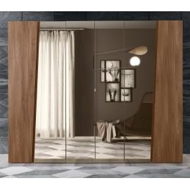 Шкаф 6-дверный с зеркалами Akademy