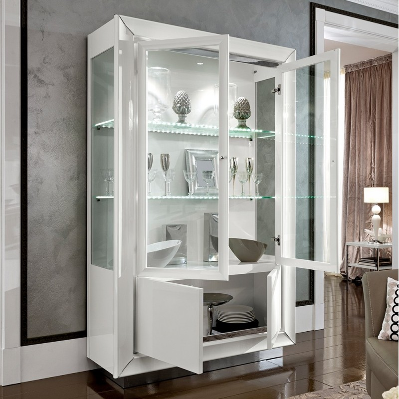 витрины белые глянцевые фото кабачки