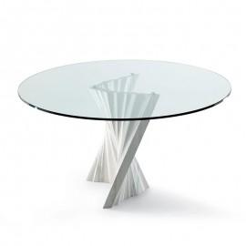 Круглый стол Plisset Cattelan