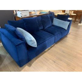 Диван PIUMA с подушками, размер 242-101-63