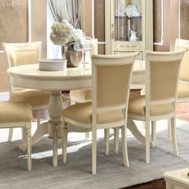 Стол обеденный Torriani Avorio овальный