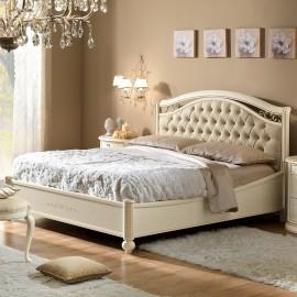 Кровать Siena Avorio capitonne б/изножья