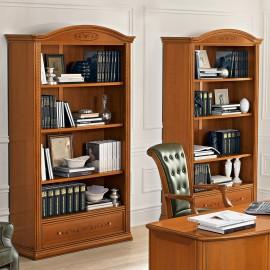 Шкаф книжный Siena Ciliegio с ящиком без дверей