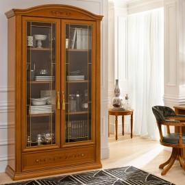 Шкаф книжный Siena Ciliegio 2ств.
