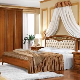 Кровать Nostalgia Curvo ferro capitonne 160x200 (б/изножья)